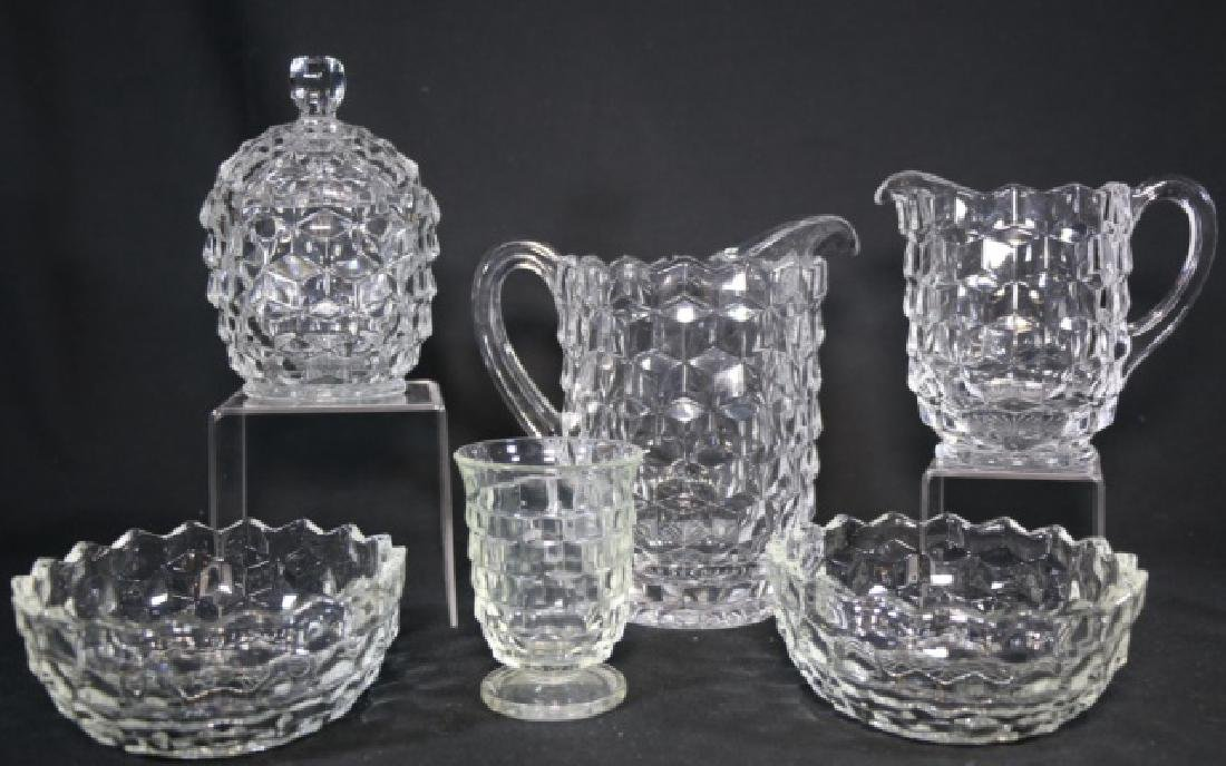 HEISEY VINTAGE GLASS GROUPING