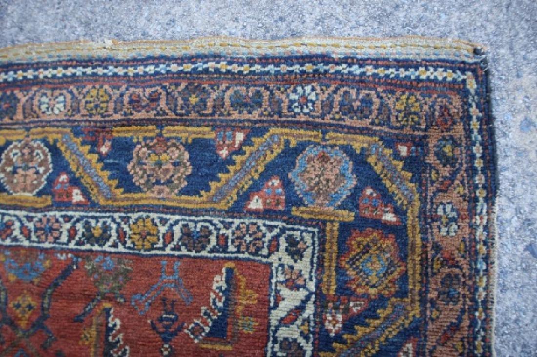 PERSIAN ANTIQUE HAND WOVEN AREA CARPET - 2