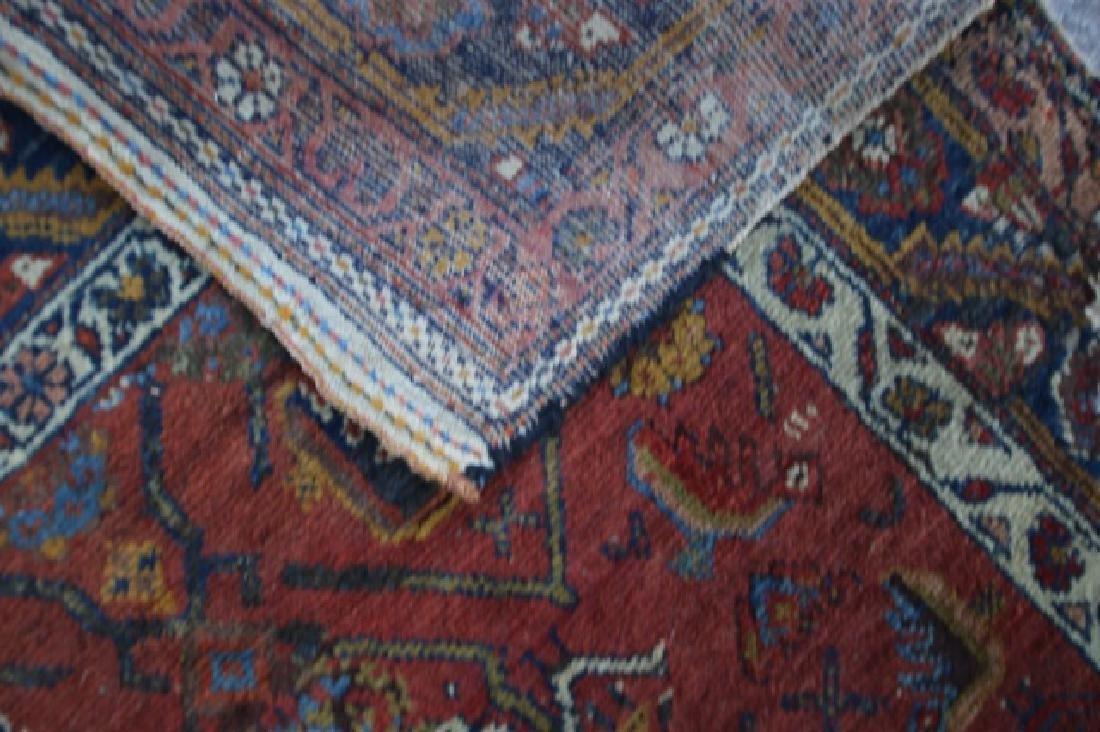 PERSIAN ANTIQUE HAND WOVEN AREA CARPET - 3