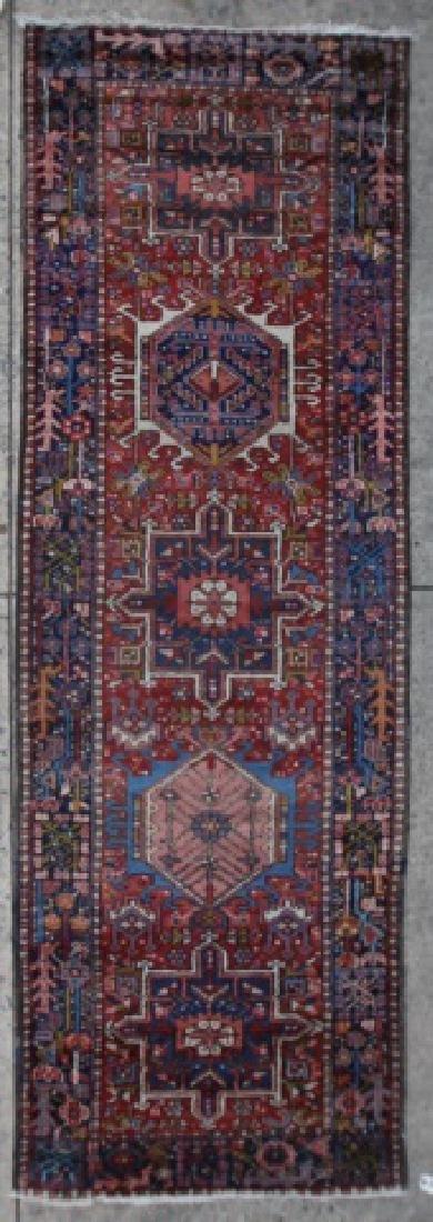 PERSIAN ANTIQUE HAND WOVEN AREA RUNNER CARPET