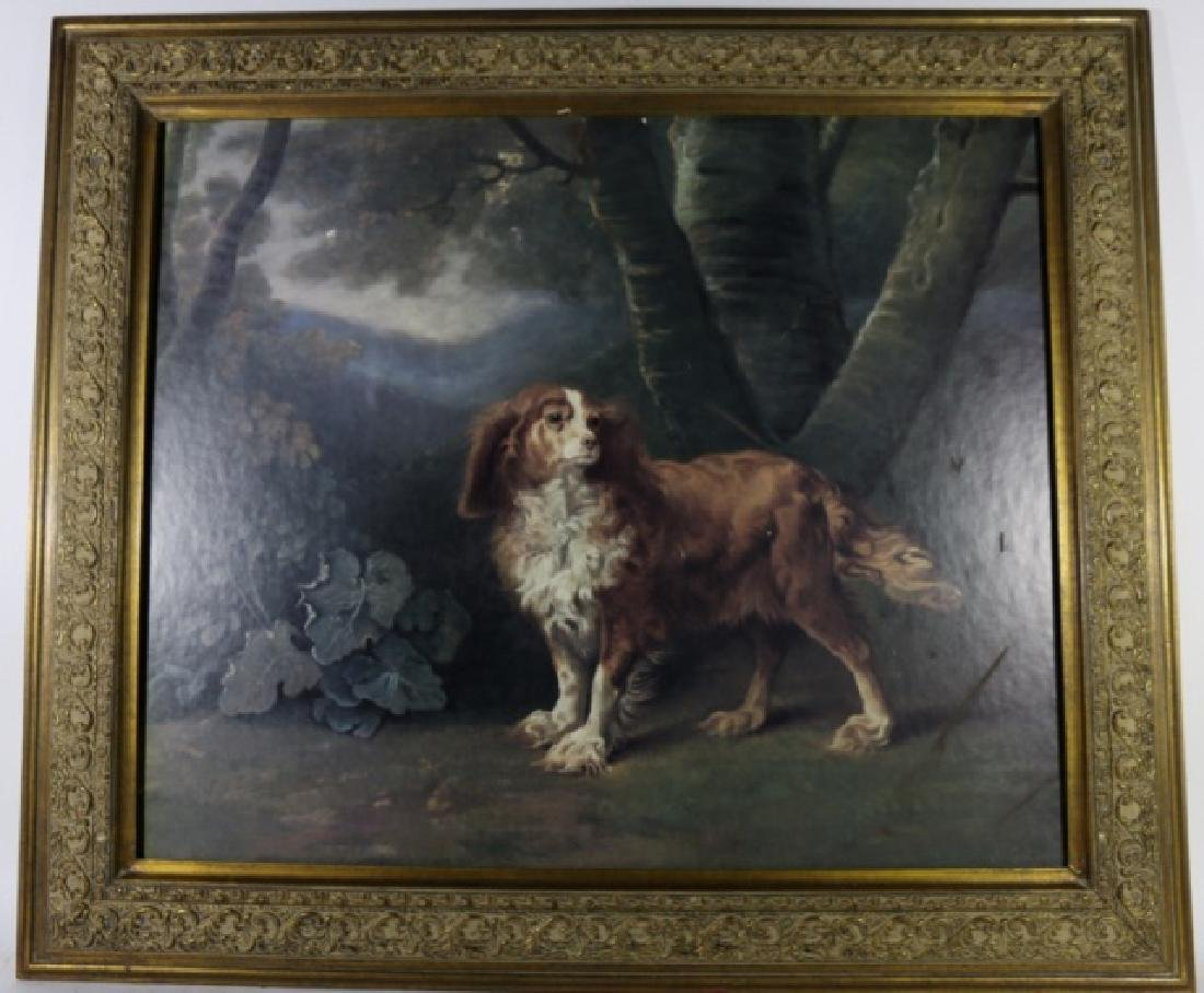SAWREY GILPIN (1733-1807) OIL ON CANVAS KING CHARLES