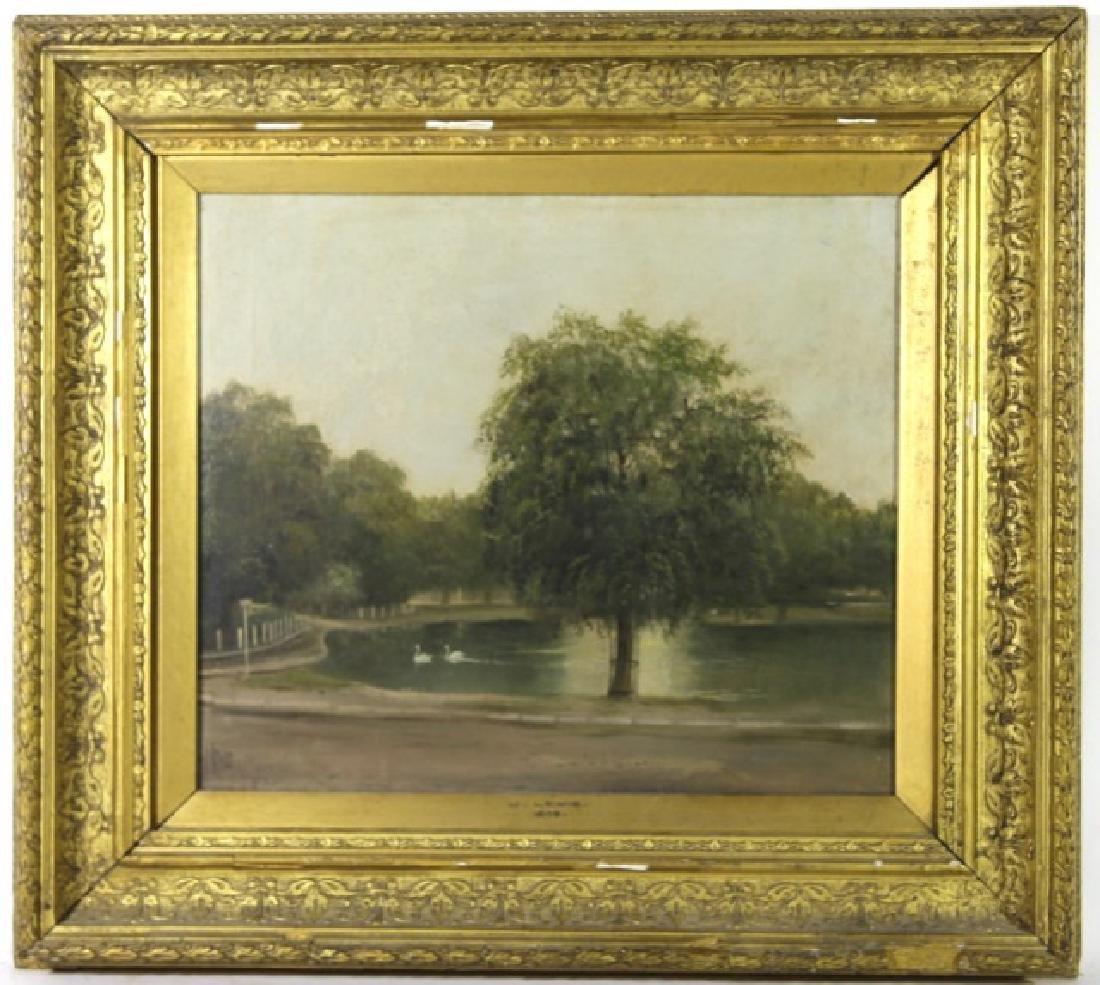 CHARLES JAMES LEWIS (BRITISH 1830-1892) LANDSCAPE