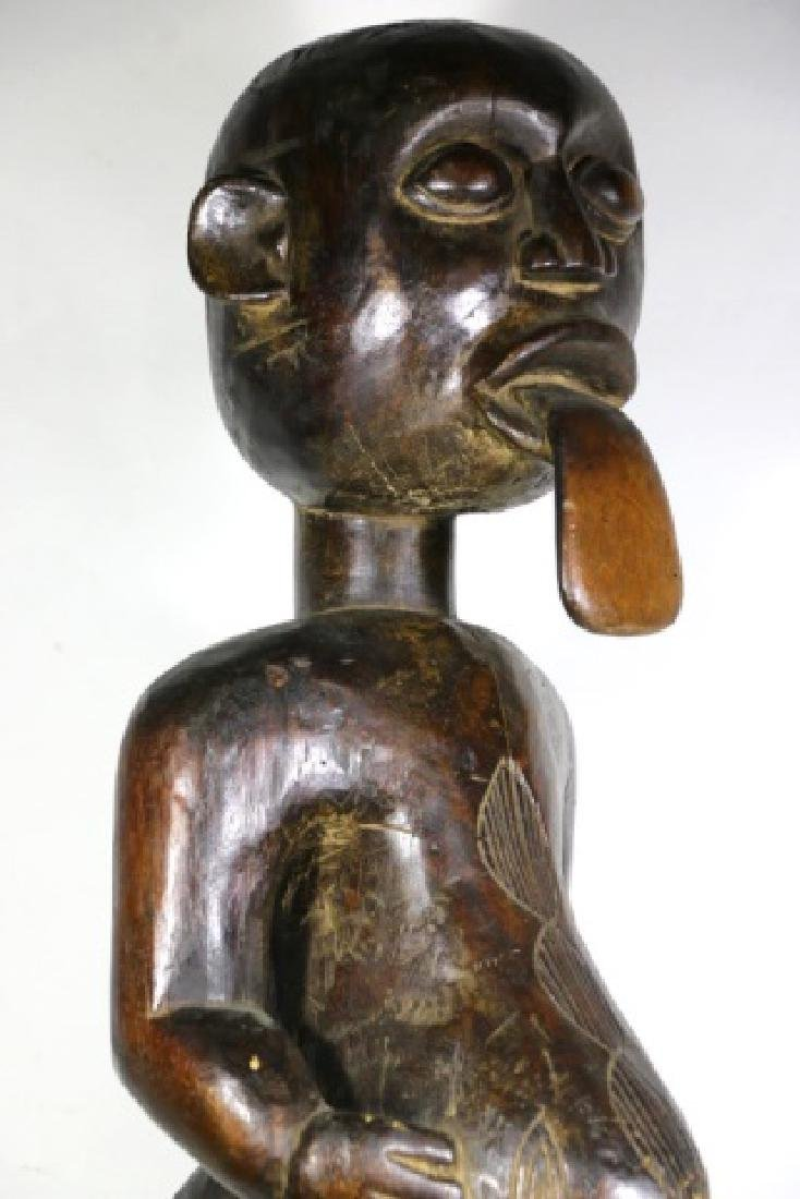 AFRICAN ANTIQUE FERTILITY GOD - 10