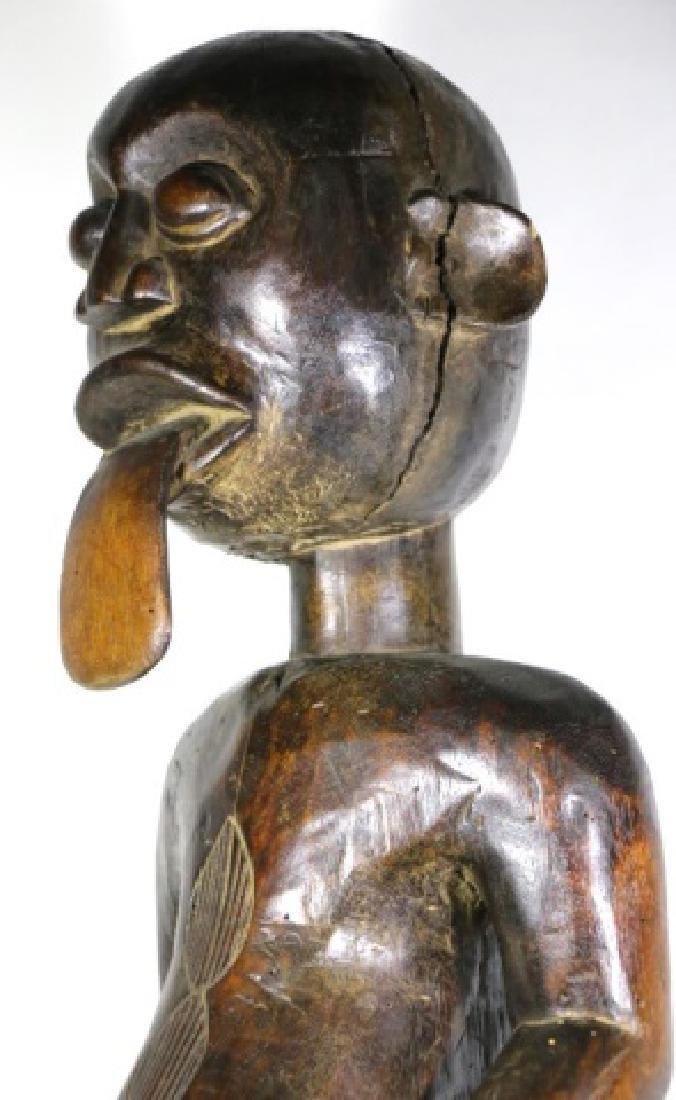 AFRICAN ANTIQUE FERTILITY GOD - 4