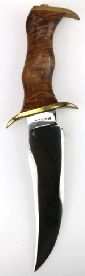 W F MORAN (AMERICAN 1925-2006) RARE BOWIE KNIFE - 15