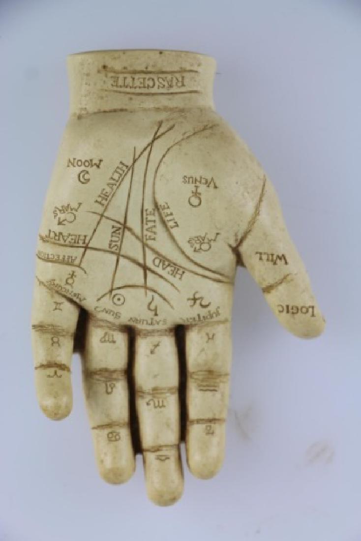 RASCETTE VINTAGE PALMISTRY HAND STUDY - 4