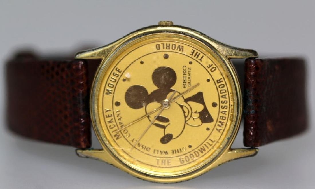 SIEKO VINTAGE MICKEY MOUSE SKIN BAND MENS WATCH