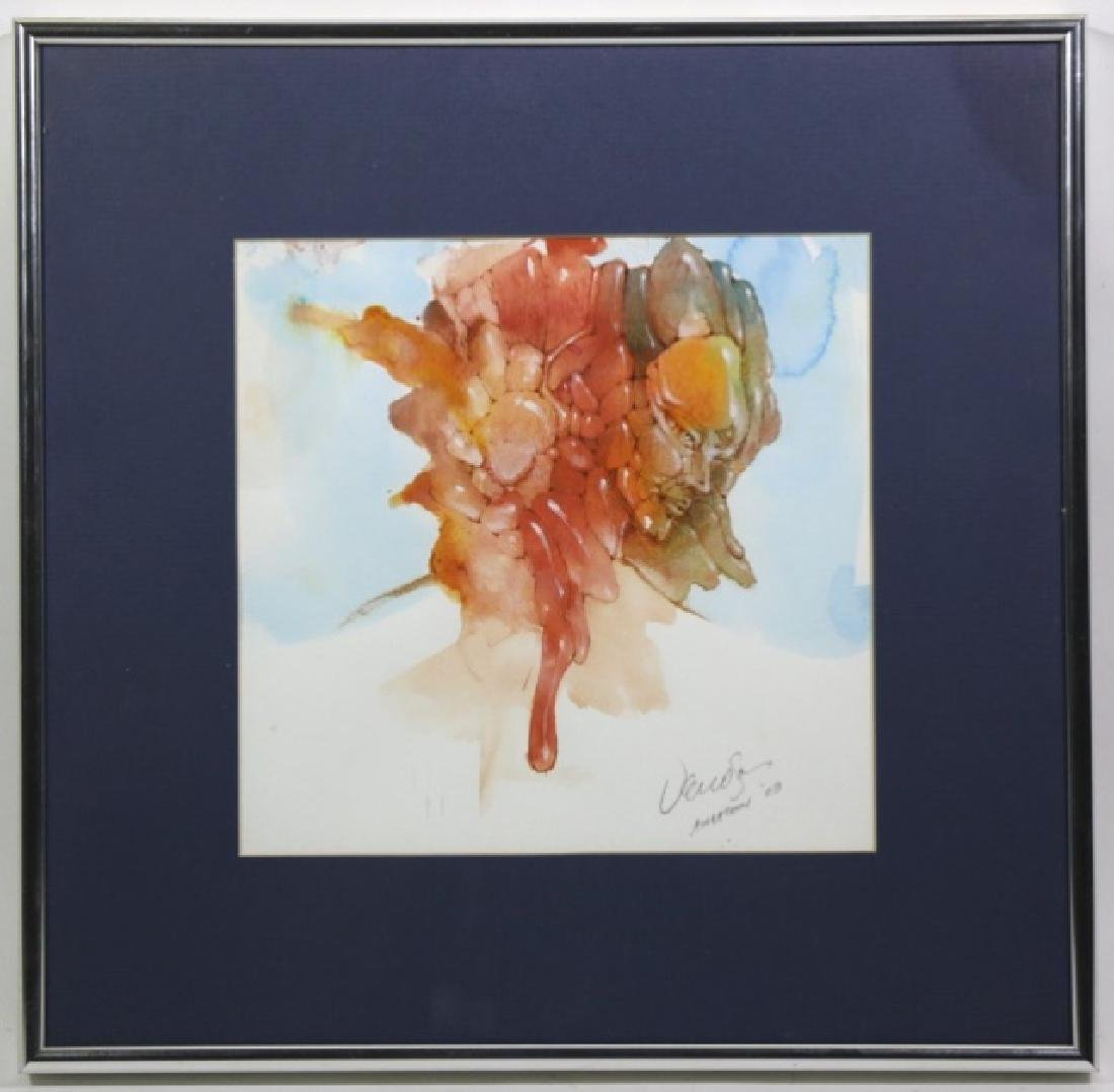 ROBERT VENOSA WATERCOLOR ORIGINAL WORK