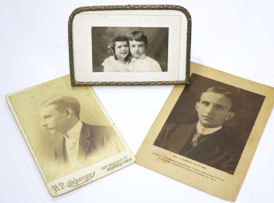 ANTIQUE PHOTOGRAPH GROUPING