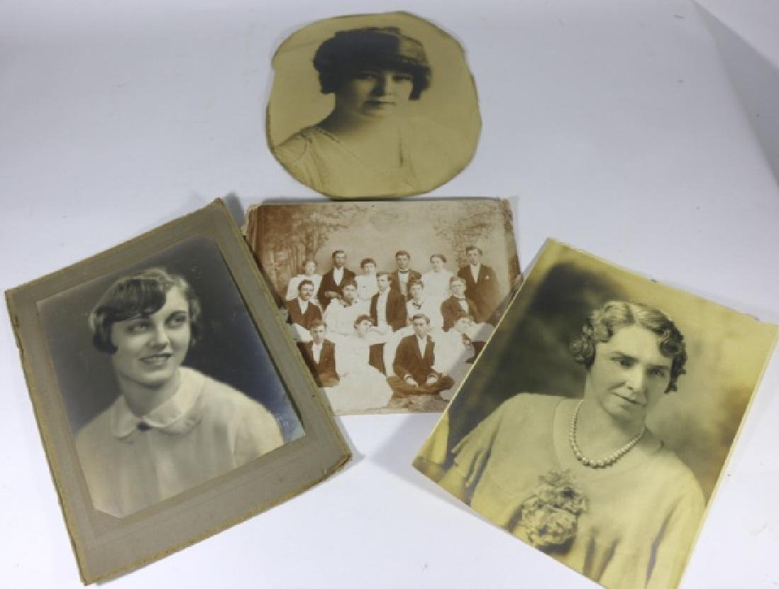 ANTIQUE PHOTO GROUPING