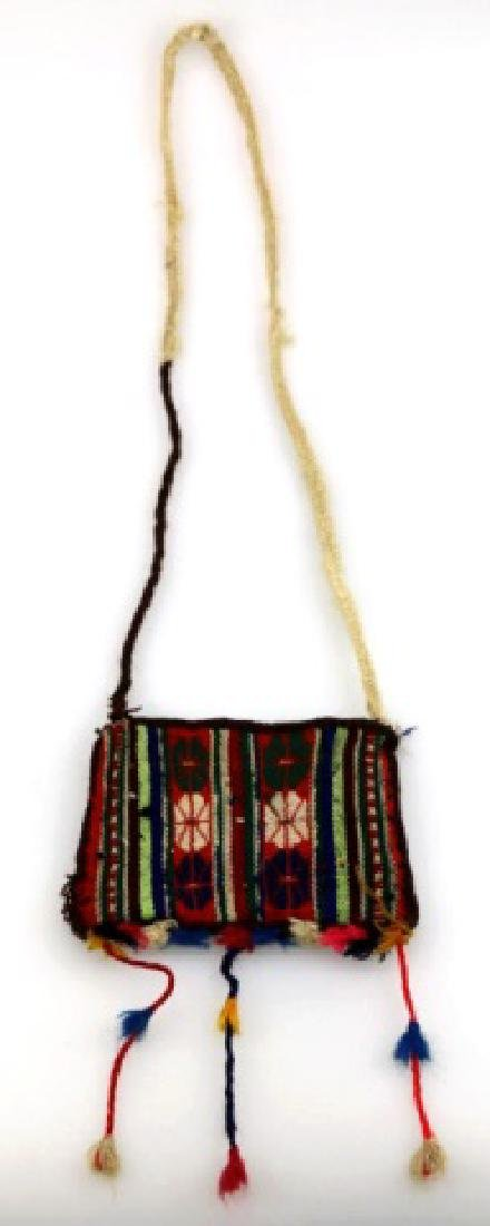 NATIVE AMERICAN BEADED BAG