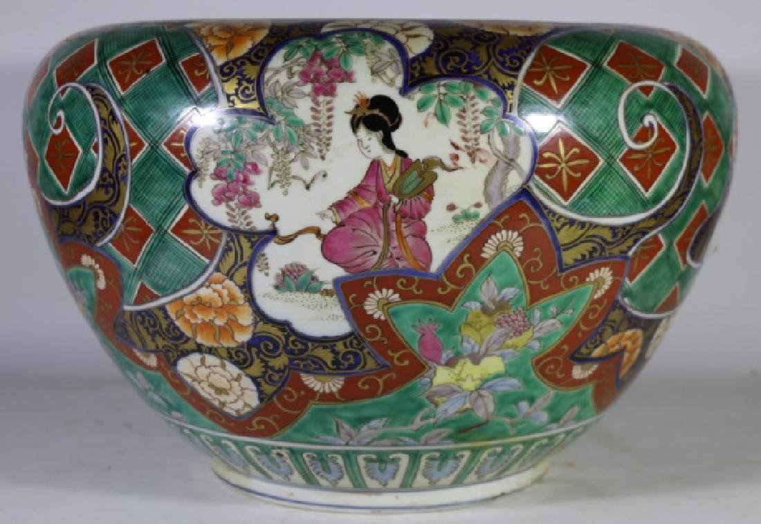 CHINESE ANTIQUE FAMILLE QUAN FISH BOWL