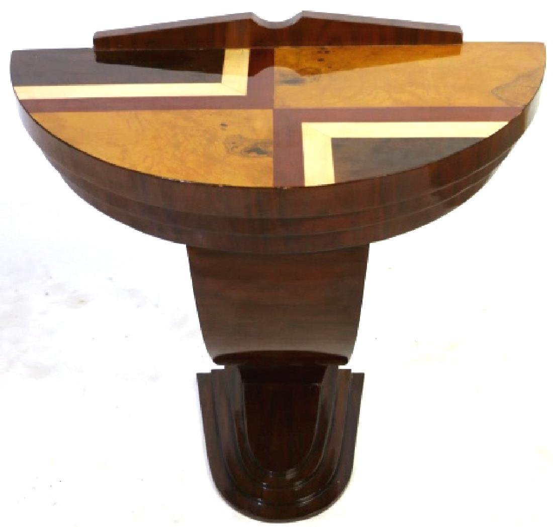 MID-CENTURY MODERN STYLE SPECIMEN CONSOLE TABLE