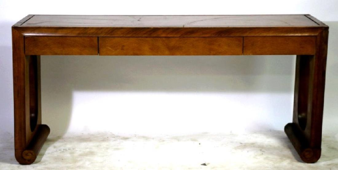 HENREDON CHINESE MODERN LARGE CONSOLE TABLE - 3