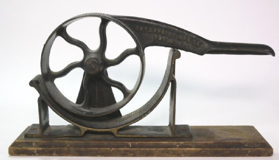 19TH C. ENTERPRISE MFG CO.PHILA  ROTARY CORK PRESS
