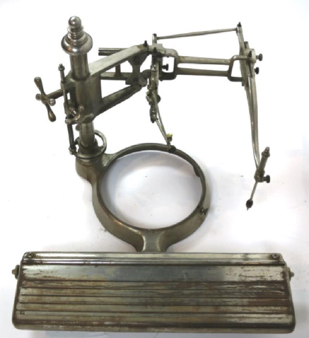 ANTIQUE NICKLED ENGRAVING / ETCHING MACHINE - 2