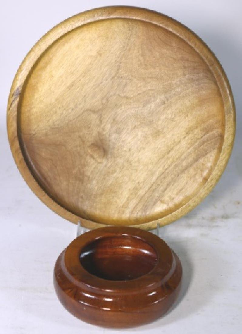J.C. CHARLES HAND TURNED BOWL GROUPING