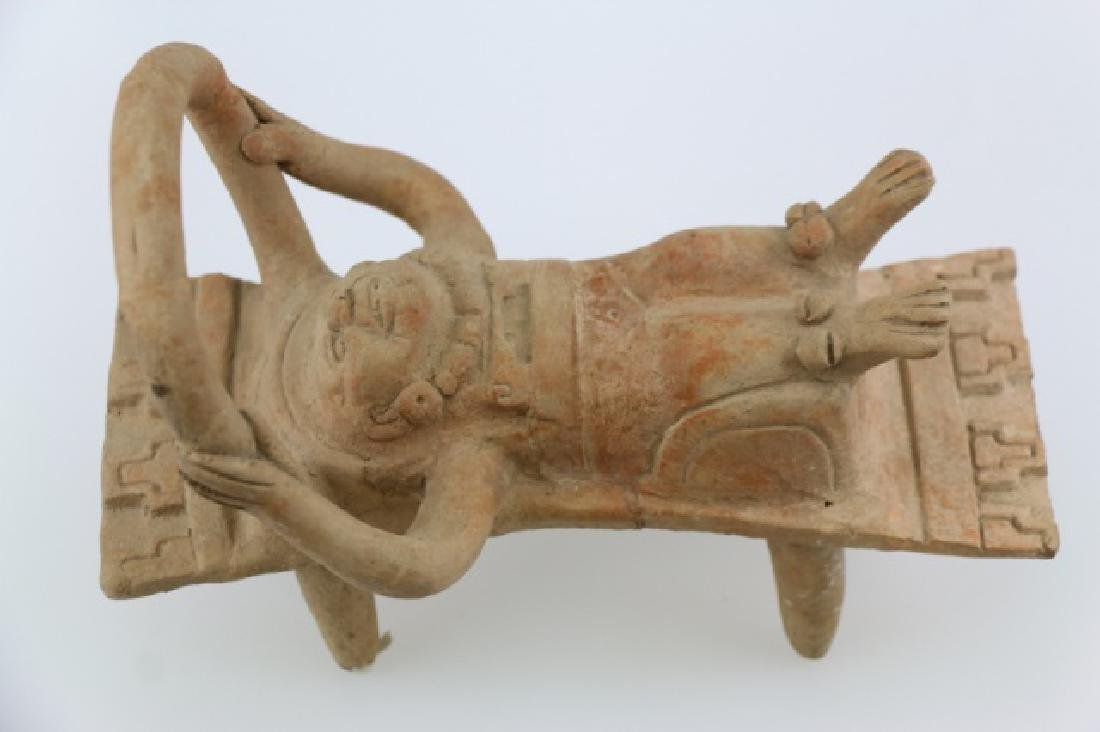 PRE-COLUMBIAN VERA CRUZ BEDDED FIGURE