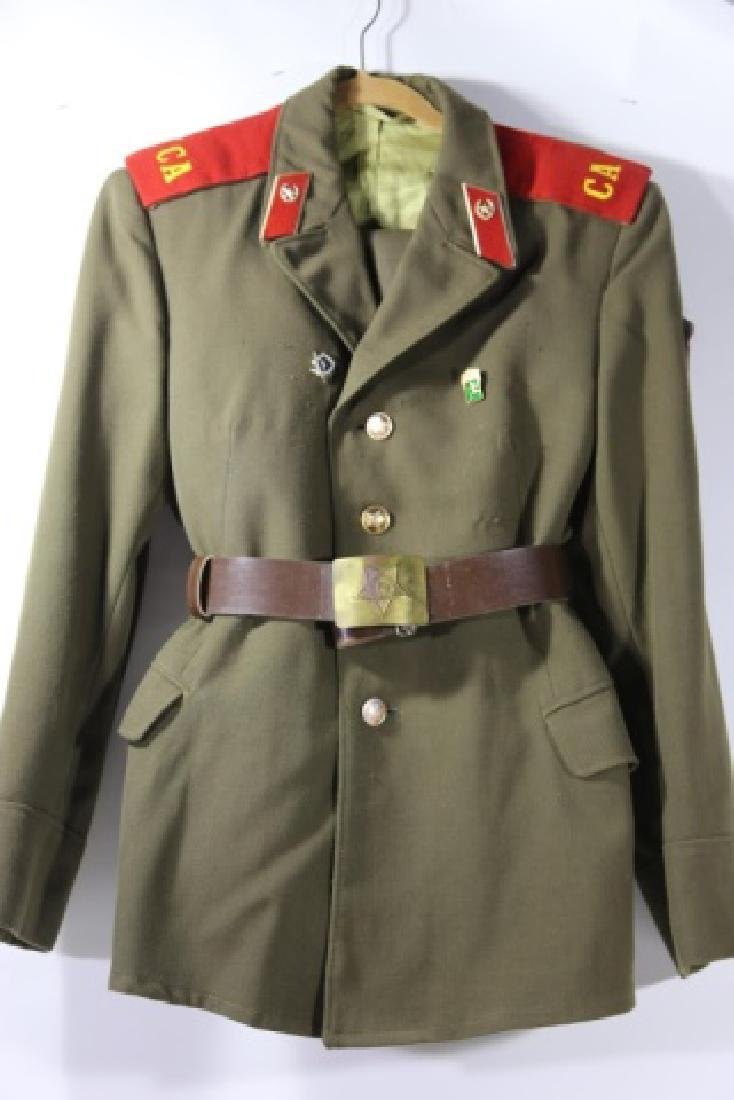 RUSSIAN ANTIQUE COLD WAR ERA  DRESS UNIFORM