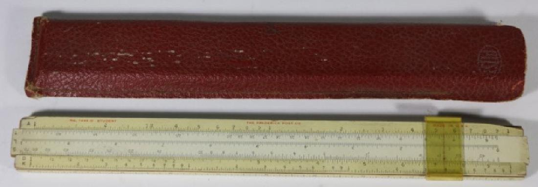 ANTIQUE CASED SLIDE RULE MEASURE