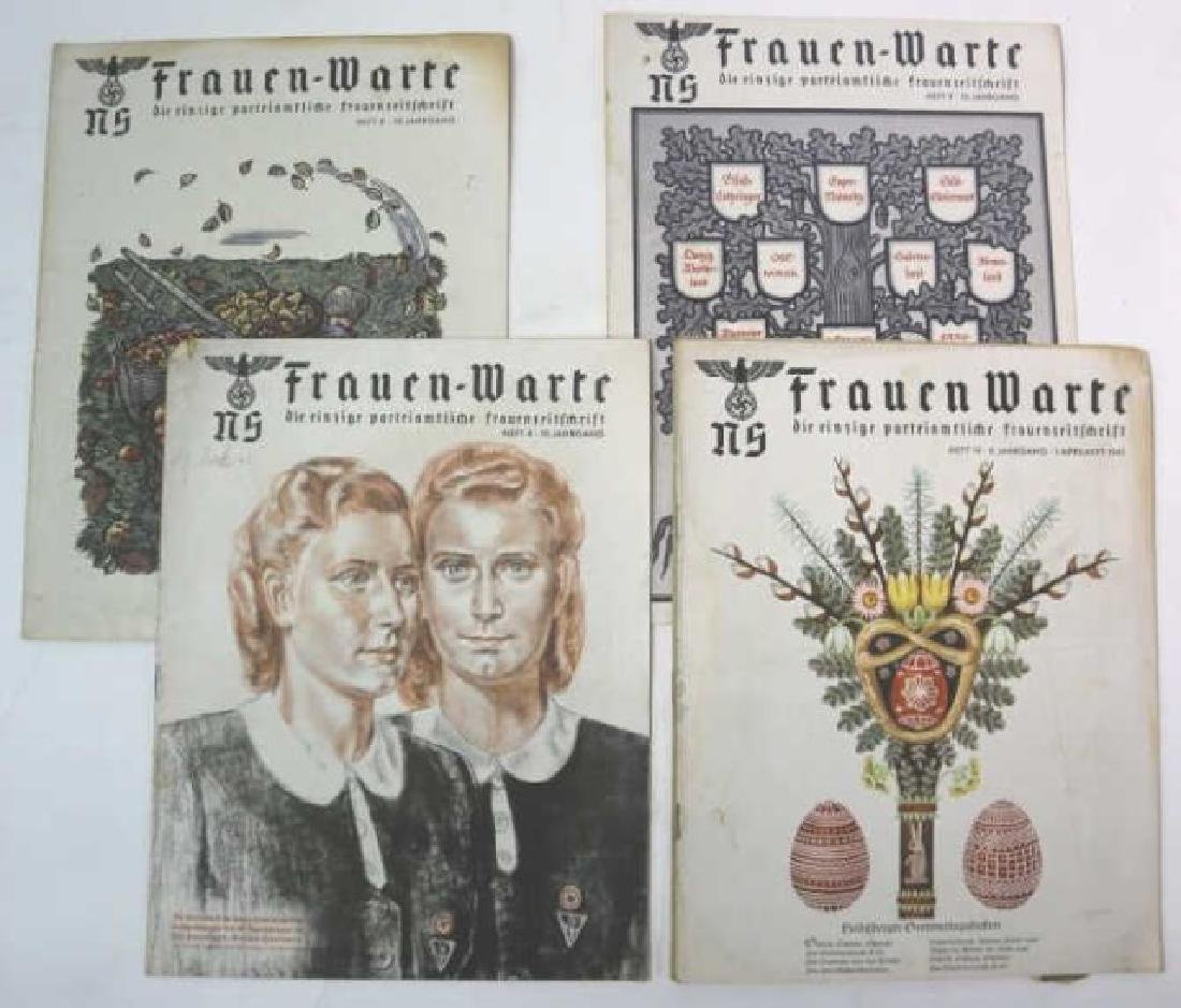FRAUEN WARTE NAZI WWII EAR VINTAGE MAGAZINE GROUP