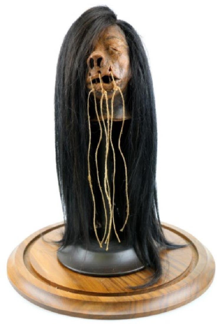 SHRUNKEN HEAD UNDER DOME