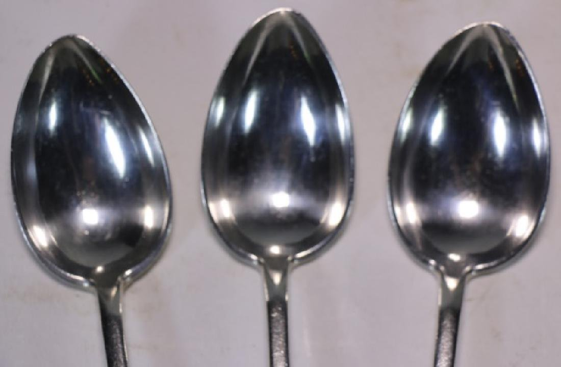 EUROPEAN SILVER SPOON GROUPING - 3