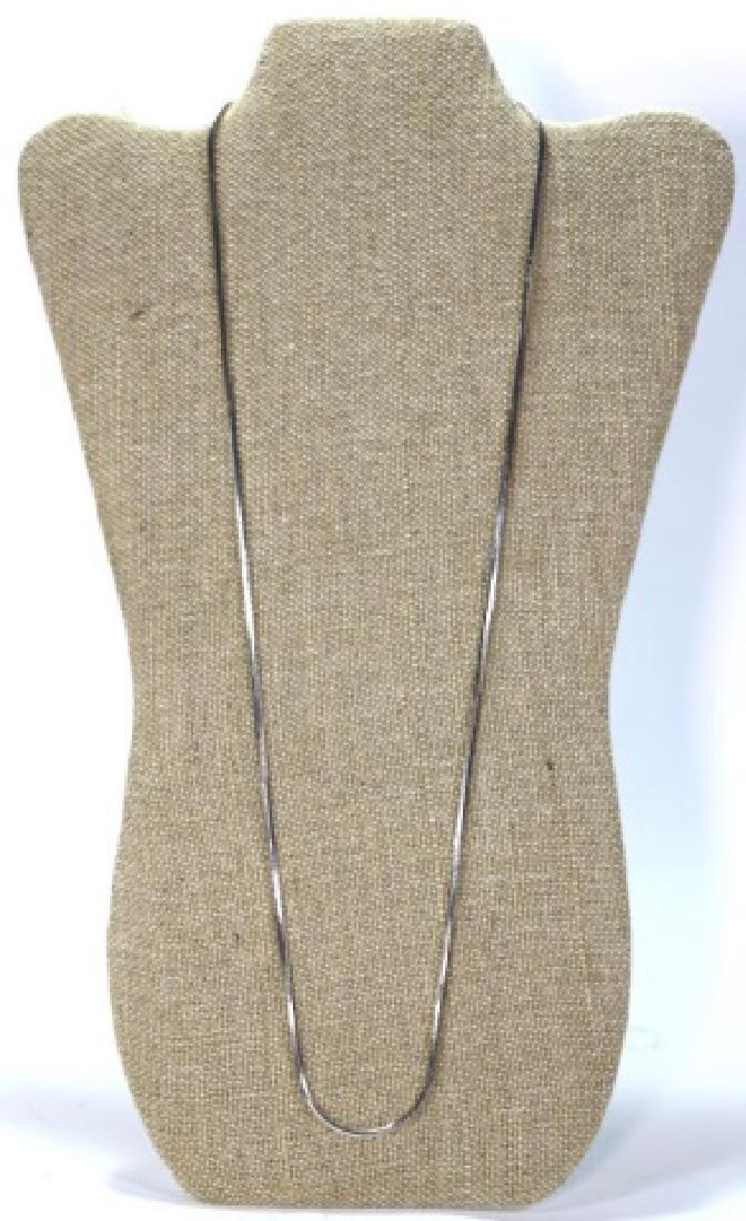 """STERLING SILVER 30"""" NECKLACE - 3"""