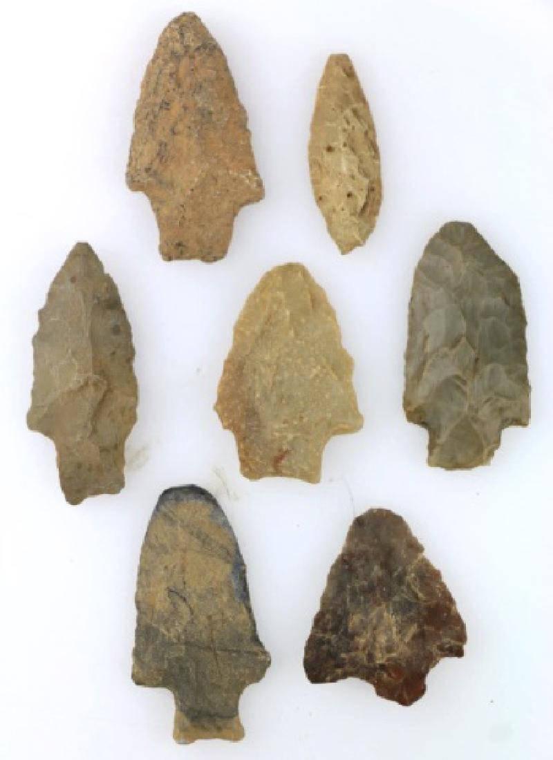 NATIVE AMERCIAN PIEDMONT POINTS / SPEAR HEAD GROUP