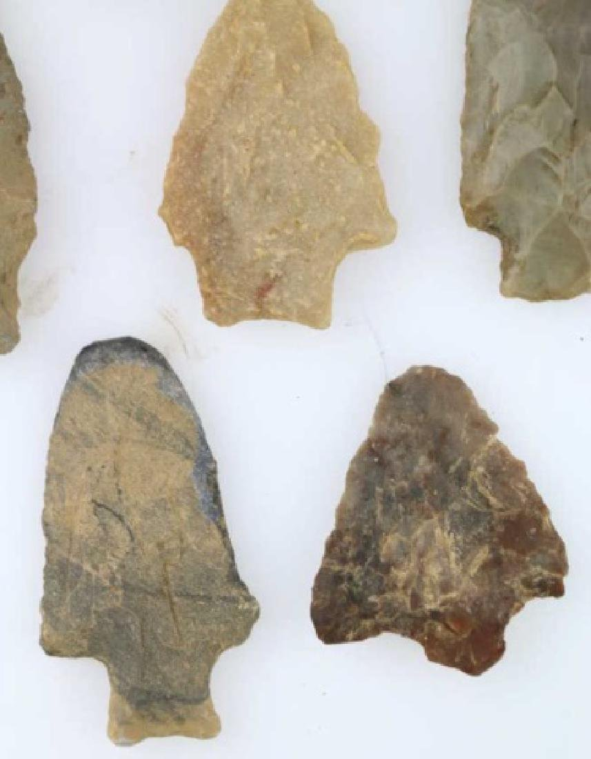 NATIVE AMERCIAN PIEDMONT POINTS / SPEAR HEAD GROUP - 3