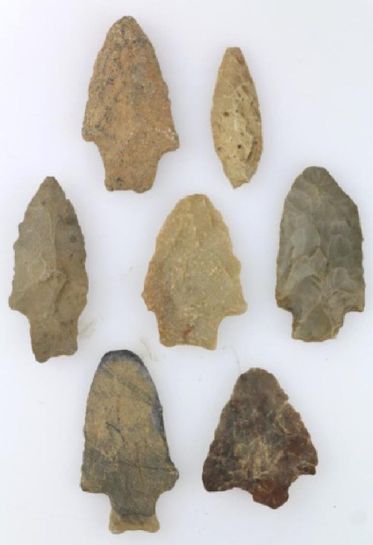 NATIVE AMERCIAN PIEDMONT POINTS / SPEAR HEAD GROUP - 4