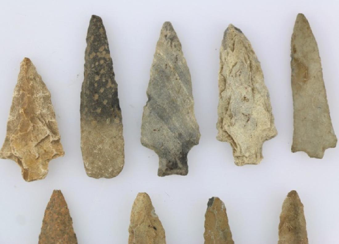 NATIVE AMERCIAN PIEDMONT POINTS / SPEAR HEAD GROUP - 2