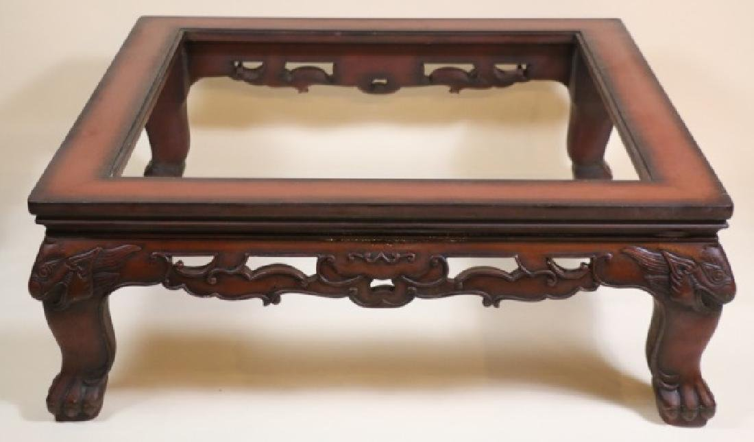CHINESE / MAITLAND SMITH LARGE COFFEE TABLE BASE