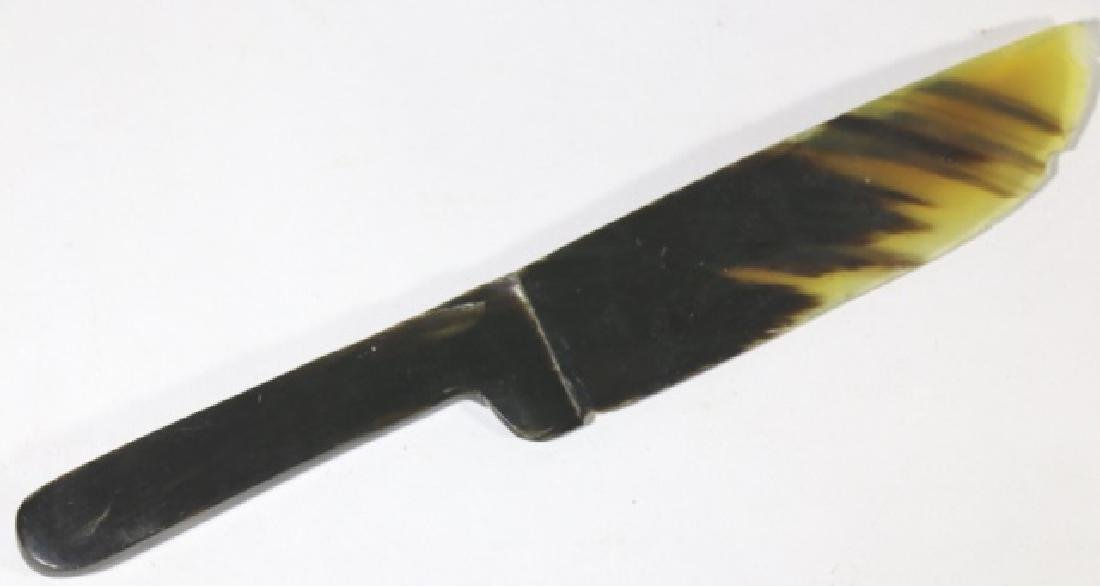 ANTIQUE TORTOISE KNIFE / LETTER OPENER