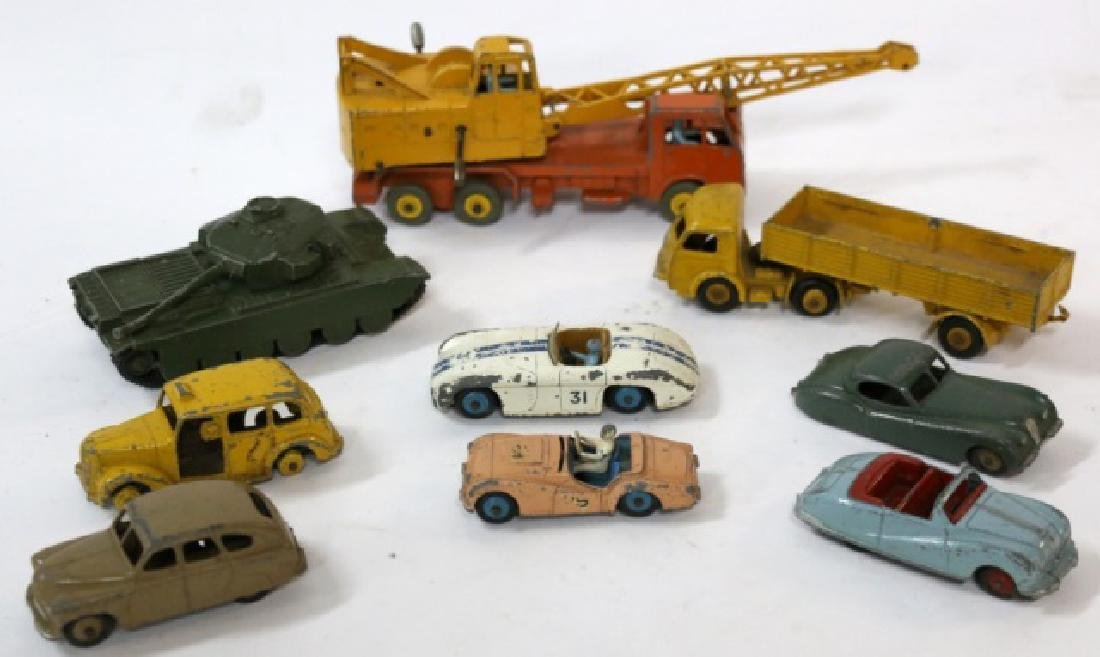 DINKY VINTAGE TOY GROUPING - 10