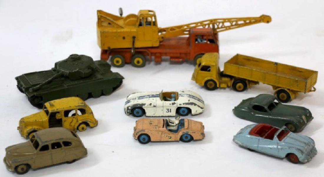 DINKY VINTAGE TOY GROUPING
