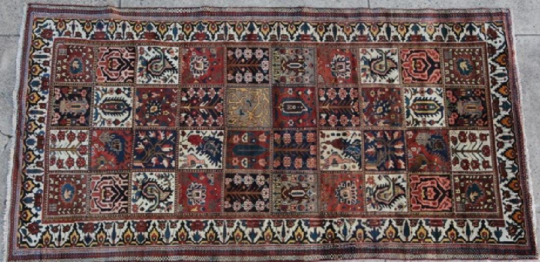 PERSIAN HAND WOVEN GEOMETRIC AREA CARPET