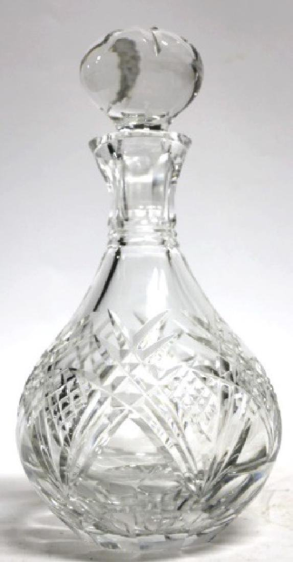 FINE CUT GLASS DECANTER