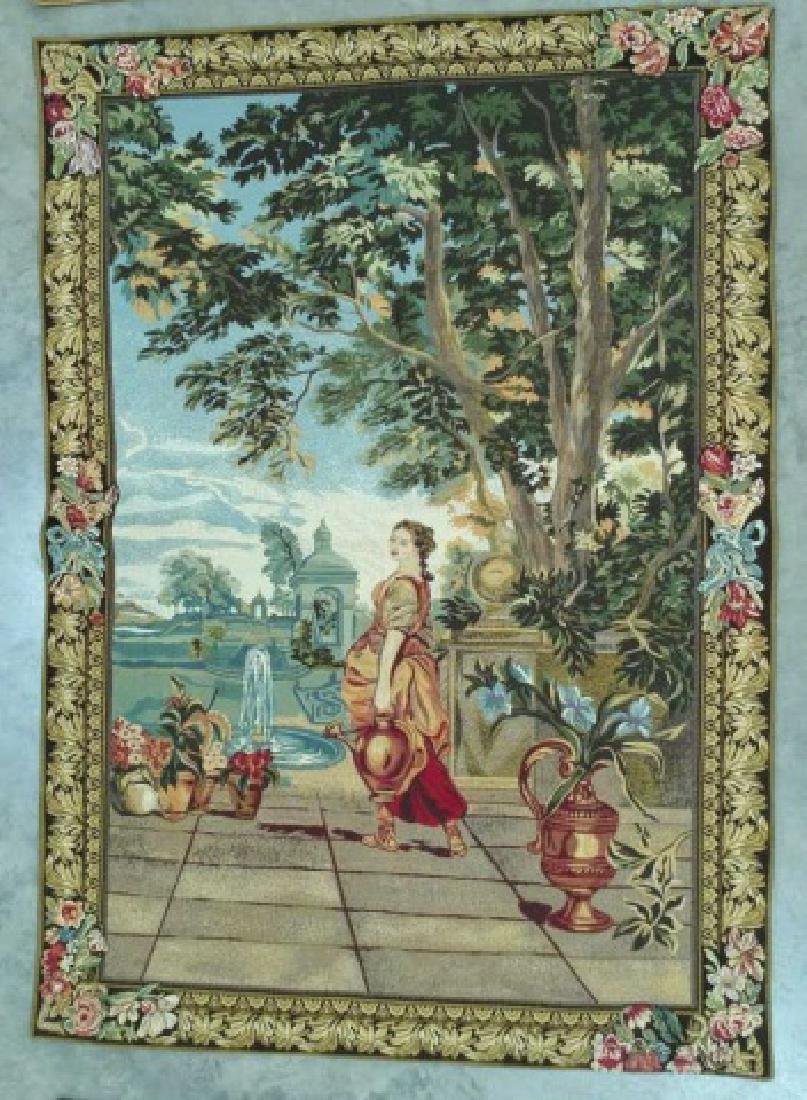 FRENCH MODERN CLASSICAL HANGING TAPESTRY