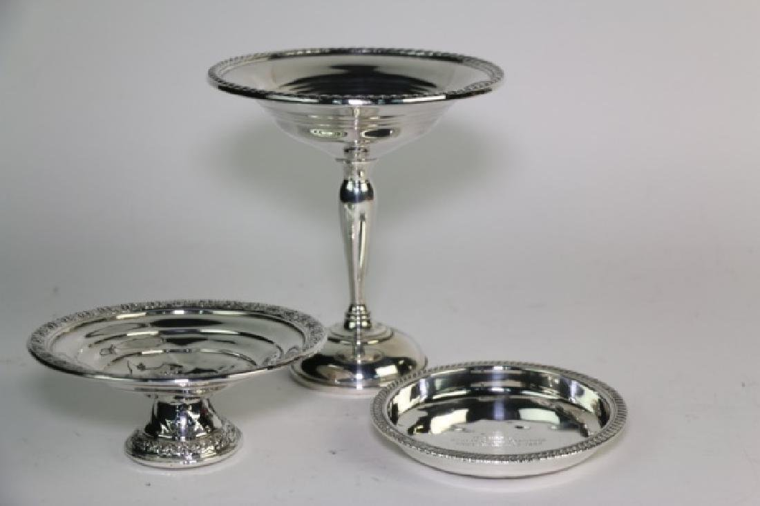 STERLING SILVER GROUPING - 3