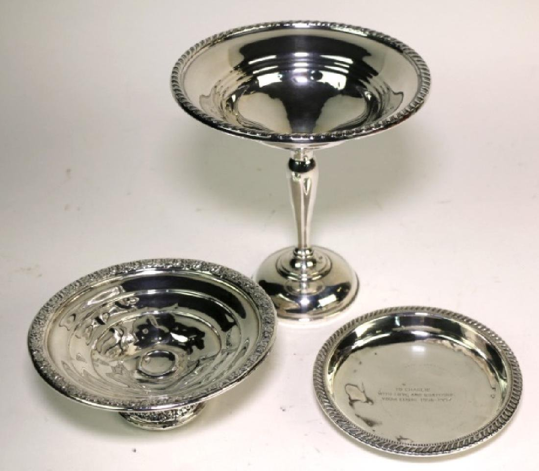 STERLING SILVER GROUPING - 4