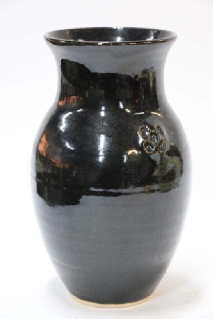 BEN OWEN  SEAGROVE NC  POTTERY ASIAN INSPIRED VASE