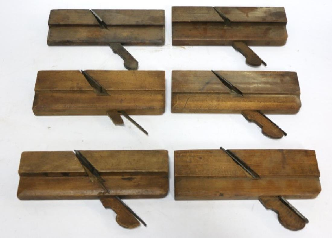 ANTIQUE WOODEN PLANE GROUPING