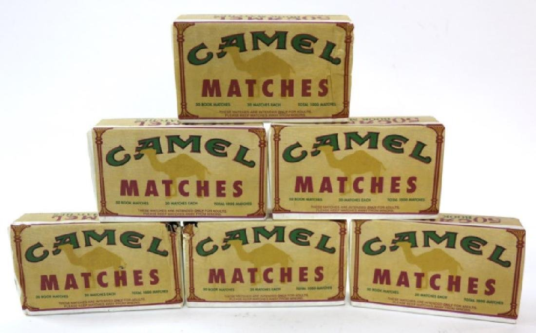 VINTAGE RJR CASED CAMEL MATCH CASE GROUPING