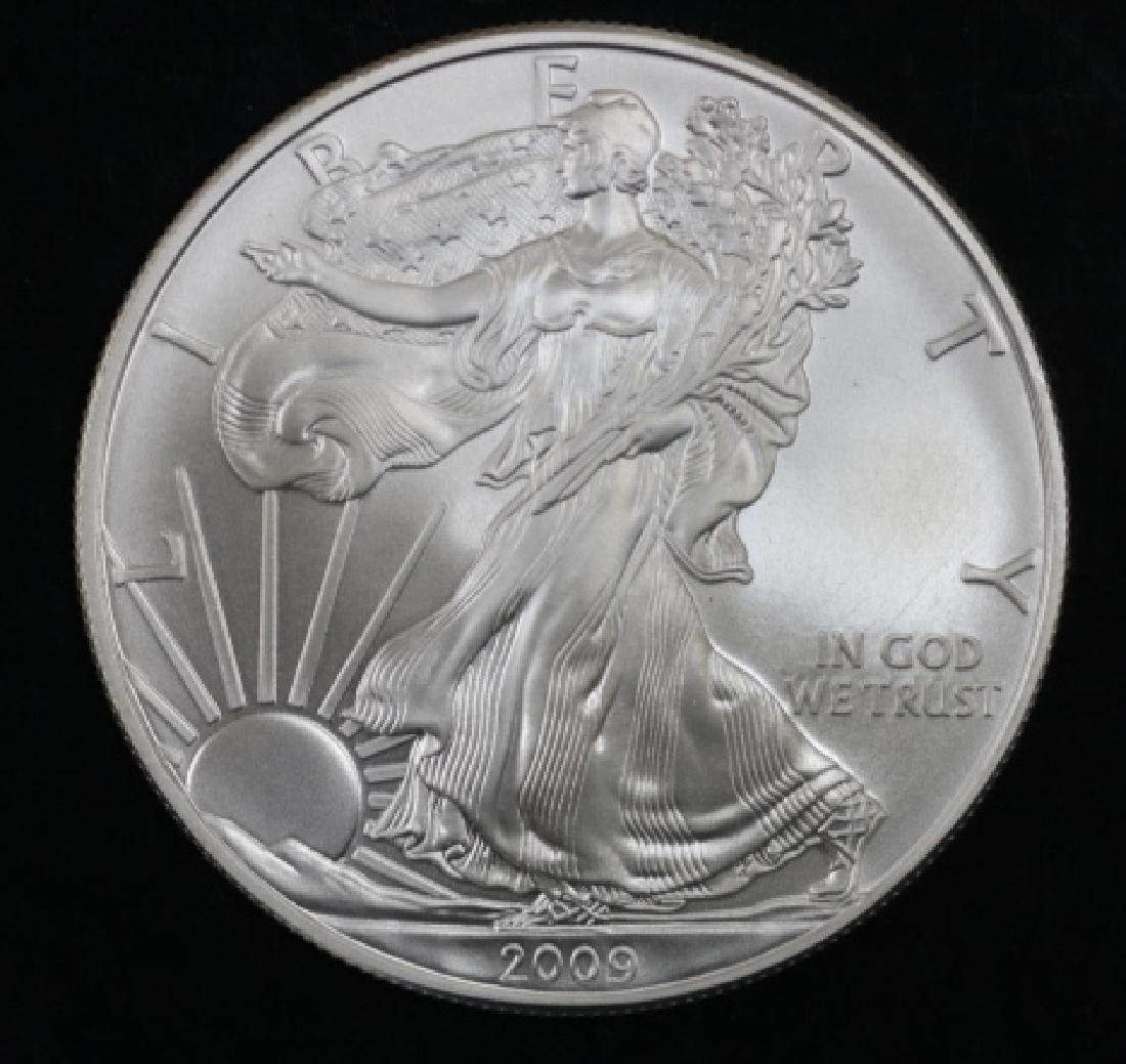 UNCIRCULATED PEACE SILVER DOLLAR - 5