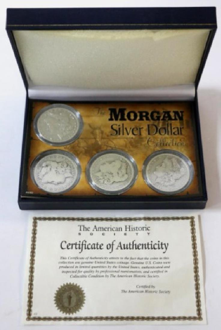 MORGAN SILVER DOLLAR SLABBED PROOF GROUPING