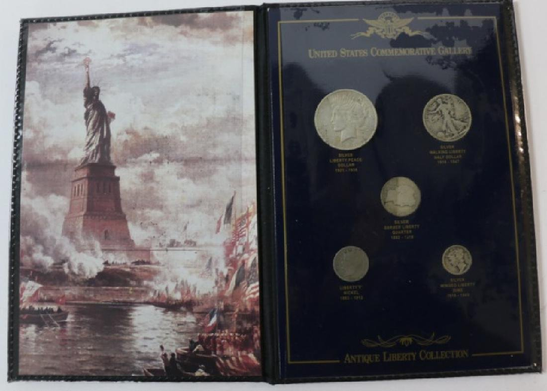 US COMMORATIVE ANTIQUE LIBERTY COLLECTION