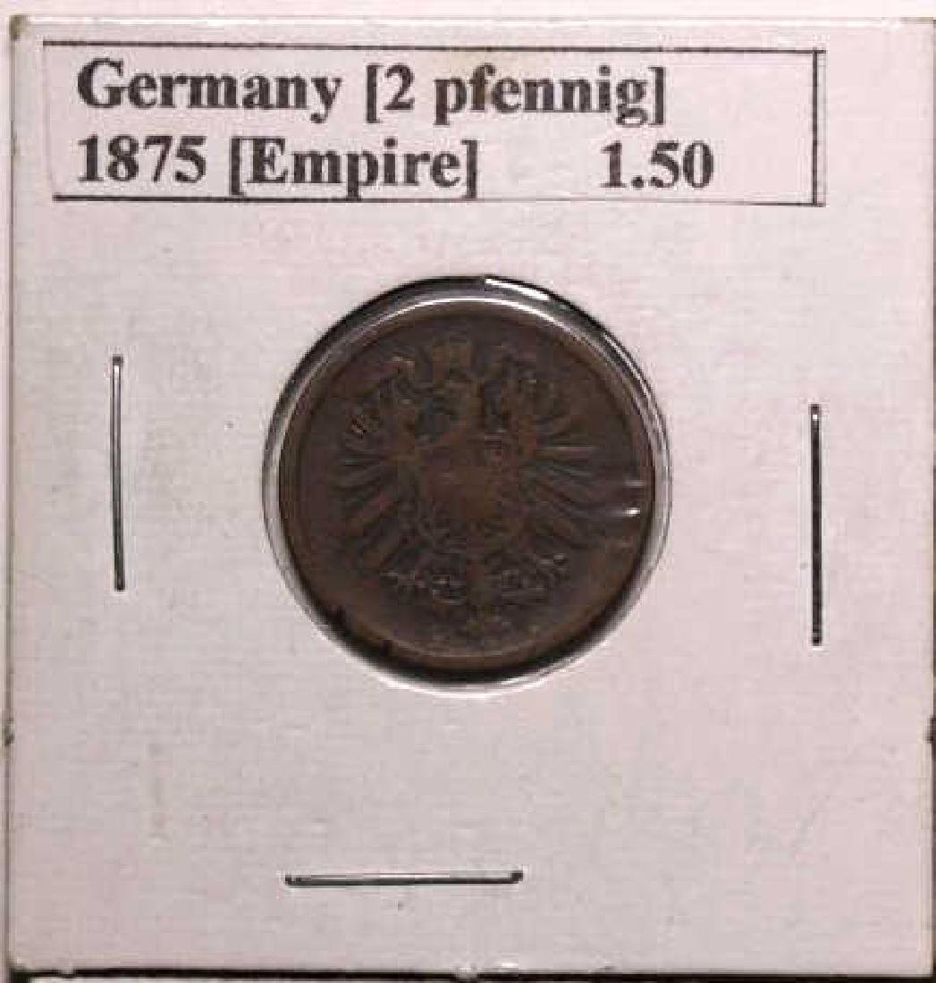 19TH C. FOREIGN COIN GROUPING - 2