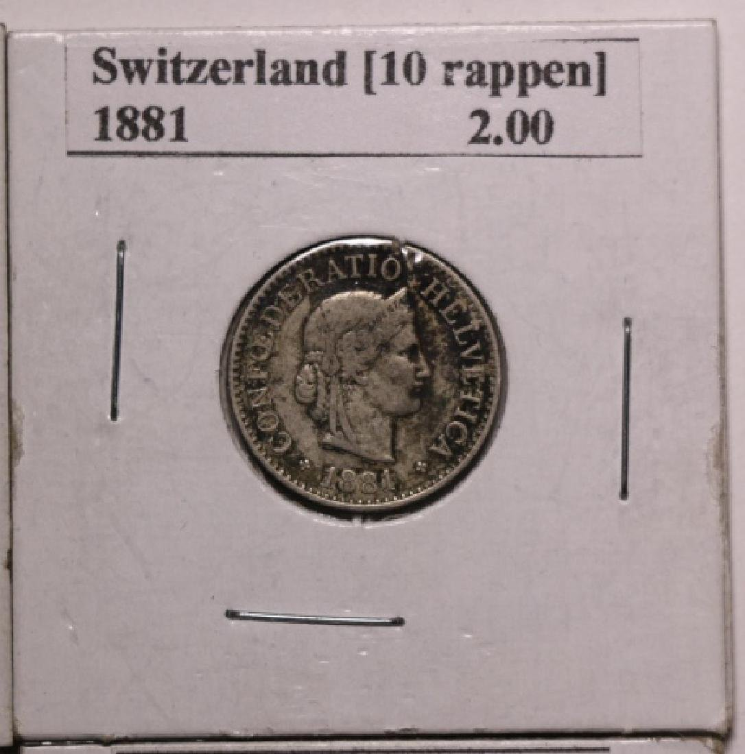 19TH C. FOREIGN COIN GROUPING - 3