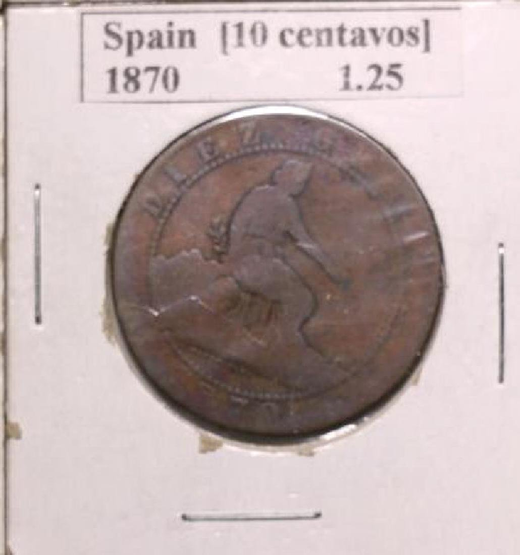 19TH C. FOREIGN COIN GROUPING - 4
